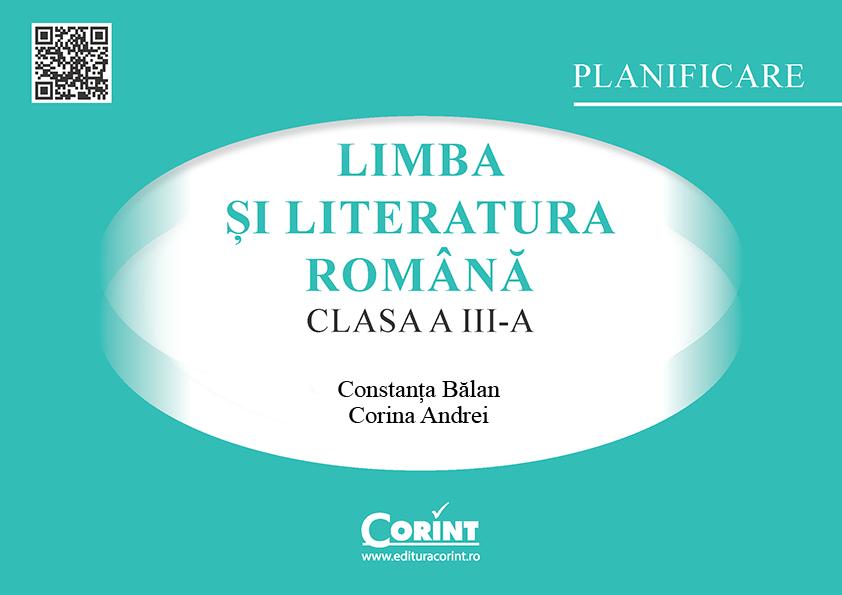 Planificare Romana clasa a III-a